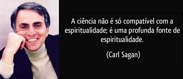 Carl Sagan - espiritualidade