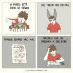 Humor em imagens – Como está o mundo