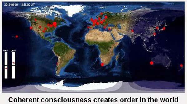 Consciência Global Noosfera global consciouness project