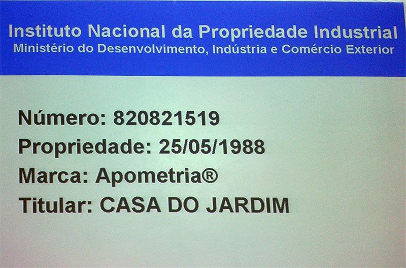 Apometria Copyright Casa do jardim