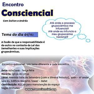 Encontro Consciencial Curitiba - Lei dos Semelhantes