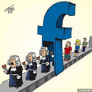 Juizes de Facebook