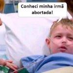 """EQM – FILHO VOLTA DA """"MORTE"""" E CONHECE IRMÃ ABORTADA"""