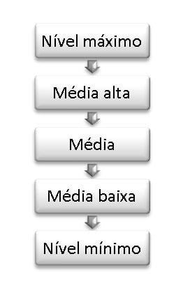 Nível evolutivo consciencial de um grupo - escalas