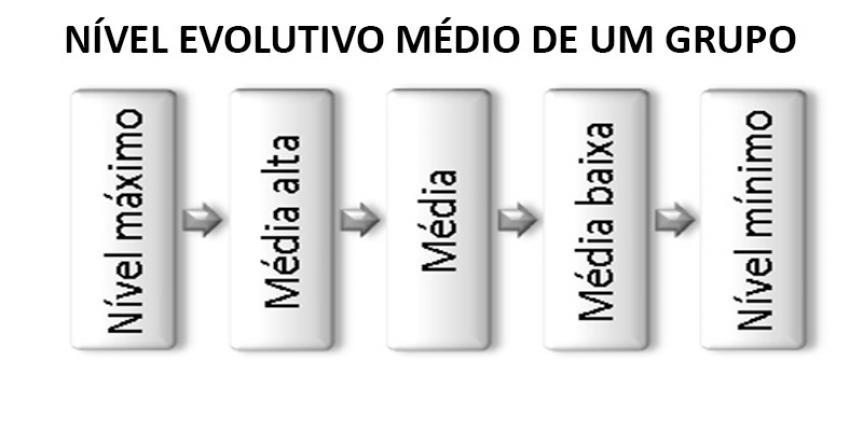 NÍVEL EVOLUTIVO MÉDIO DE UM GRUPO